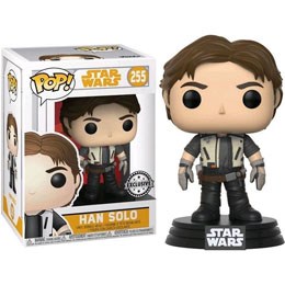 STAR WARS SOLO POP! BOBBLE HEAD HAN SOLO