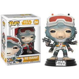FUNKO POP STAR WARS SOLO BOBBLE HEAD RIO DURANT