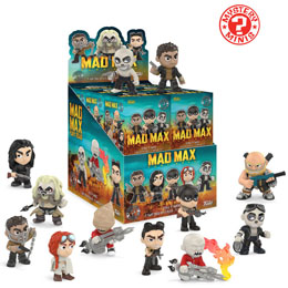 MYSTERY MINI MAD MAX FURY ROAD 12 FIGURINES + PRESENTOIR