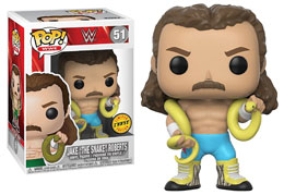 FUNKO POP WWE JAKE THE SNAKE VERSION CHASE EXCLUSIVE