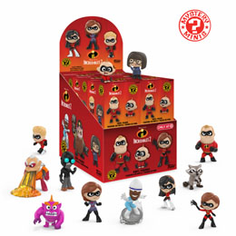 PACK DE 12 FIGURINES MYSTERY MINI DISNEY LES INDESTRUCTIBLES 2 + PRESENTOIR