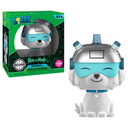 FUNKO DORBZ RICK & MORTY SNOWBALL FLOCKED EXCLUSIVE