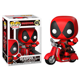 FUNKO POP MARVEL DEADPOOL & SCOOTER