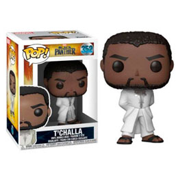 FUNKO POP MARVEL BLACK PANTHER ROBE WHITE