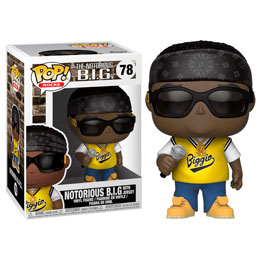 FIGURINE FUNKO POP NOTORIOUS B.I.G. IN JERSEY