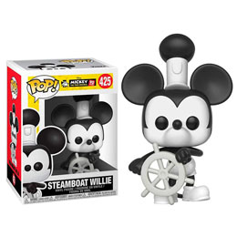 FIGURINE FUNKO POP DISNEY MICKEY'S 90TH STEAMBOAT WILLIE