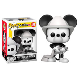 FIGURINE FUNKO POP DISNEY MICKEY'S 90TH FIREFIGHTER MICKEY
