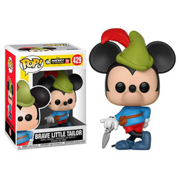 FIGURINE FUNKO POP DISNEY MICKEY'S 90TH BRAVE LITTLE TAILOR