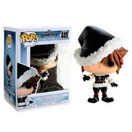 KINGDOM HEARTS 3 FUNKO POP! DISNEY CHRISTMAS TOWN SORA EXCLUSIVE
