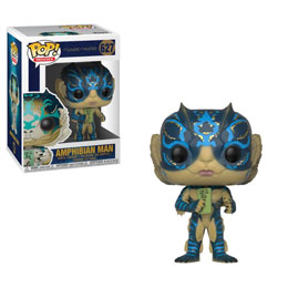 LA FORME DE L'EAU FIGURINE FUNKO POP! AMPHIBIAN MAN WITH CARD