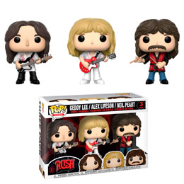 COFFRET 3 FIGURINTES FUNKO POP RUSH GEDDY ALEX NEIL