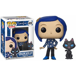 FIGURINE FUNKO POP CORALINE WITH CAT