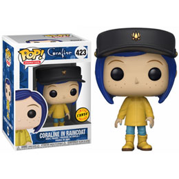 FUNKO POP CORALINE RAINCOAT CHASE EXCLUSIVE