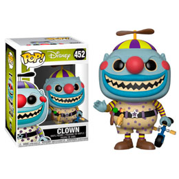 L´ÉTRANGE NOËL DE MR. JACK POP! MOVIES VINYL FIGURINE CLOWN
