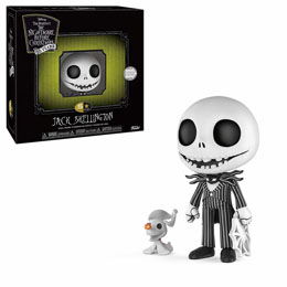 Photo du produit L'ETRANGE NOEL DE MR. JACK FIGURINE 5 STAR JACK SKELLINGTON 9 CM Photo 1
