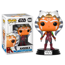 FUNKO POP STAR WARS CLONE WARS AHSOKA