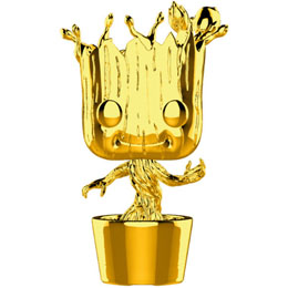 FUNKO POP MARVEL STUDIOS 10 GROOT GOLD CHROME