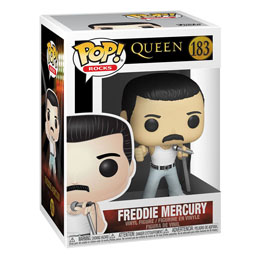 QUEEN POP! ROCKS FIGURINE FREDDIE MERCURY RADIO GAGA 9 CM