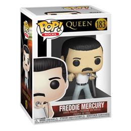 QUEEN POP! ROCKS FIGURINE FREDDIE MERCURY RADIO GAGA 9 CM