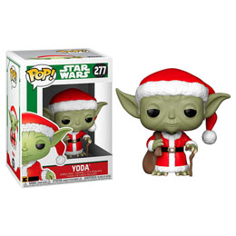FUNKO POP STAR WARS HOLIDAY SANTA YODA
