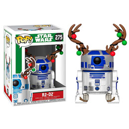 FUNKO POP STAR WARS HOLIDAY R2-D2 WITH ANTLERS
