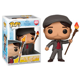 MARY POPPINS 2018 POP! DISNEY VINYL FIGURINE JACK THE LAMPLIGHTER