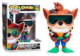 FUNKO POP CRASH BANDICOOT SCUBA CRASH