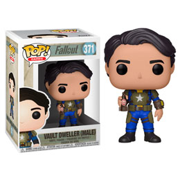 FALLOUT FIGURINE POP! GAMES VINYL VAULT DWELLER MALE