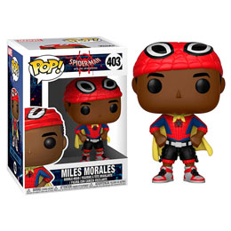FIGURINE FUNKO POP SPIDER-MAN ANIMATED HEAD MILES WITH CAPE