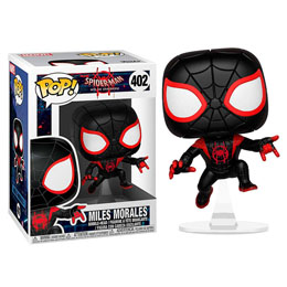 SPIDER-MAN ANIMATED POP! MARVEL VINYL BOBBLE HEAD SPIDER-MAN MILES