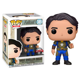 FUNKO POP FALLOUT VAULT DWELLER WITH MENTATS SERIES 2 EXCLUSIVE