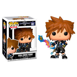 FUNKO POP DISNEY KINGDOM HEARTS 3 SORA DRIVE FORM EXCLUSIVE