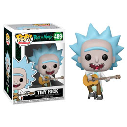 FUNKO POP RICK & MORTY TINY RICK WITH GUITAR EXCLUSIVE
