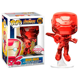 FUNKO POP MARVEL AVENGERS INFINITY WAR IRON MAN RED EXCLUSIVE