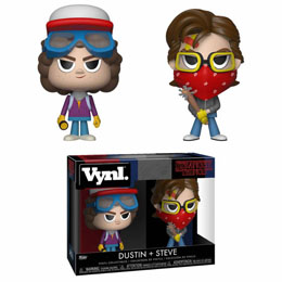 STRANGER THINGS PACK 2 VYNL VINYL FIGURINES STEVE & DUSTIN