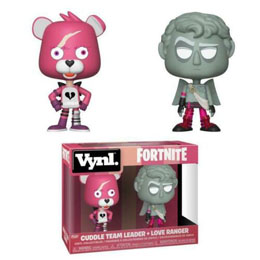 FORTNITE PACK 2 VYNL VINYL FIGURINES CUDDLE TEAM LEADER & LOVE RANGER