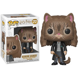FIGURINE FUNKO POP HARRY POTTER HERMIONE GRANGER AS CAT