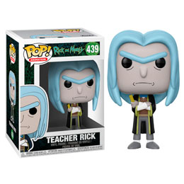 RICK ET MORTY FIGURINE POP! ANIMATION VINYL RICK