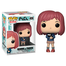 FUNKO POP FLCL MAMIMI WITH TAKKUN BLACK CAT