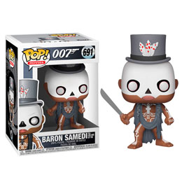 FIGURINE FUNKO POP! JAMES BOND BARON SAMEDI