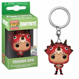 PORTE-CLÉS POCKET POP! FORTNITE TRICERA OPS 4 CM