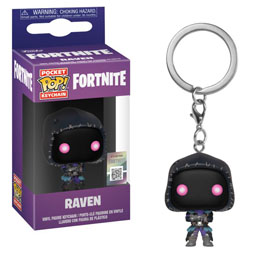 PORTE-CLÉS POCKET POP! FORTNITE RAVEN 4 CM