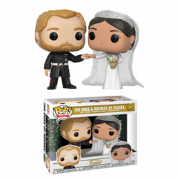 FIGURINE FUNKO POP! ROYAL THE DUKE AND DUCHESS OF SUSSEX