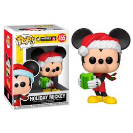 FIGURINE FUNKO POP DISNEY MICKEY'S 90TH HOLIDAY MICKEY