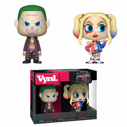 SUICIDE SQUAD PACK 2 VYNL VINYL FIGURINES THE JOKER & HARLEY QUINN