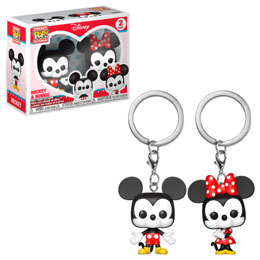 PACK PORTE CLÉ POCKET POP DISNEY MICKEY & MINNIE