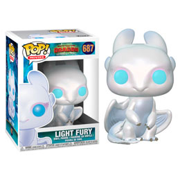 FUNKO POP HOW TO TRAIN YOUR DRAGON 3 LIGHT FURY