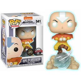 FUNKO POP POP AVATAR AANG ON AIR BUBBLE GITD CHASE EXCLUSIVE