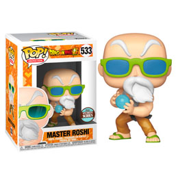 DRAGONBALL SUPER FIGURINE FUNKO POP! SPECIALITY SERIES MASTER ROSHI (MAX POWER)
