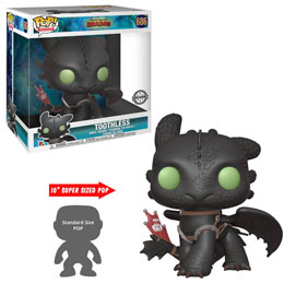 DRAGONS 3 : LE MONDE CACHÉ SUPER SIZED POP! TOOTHLESS 25 CM